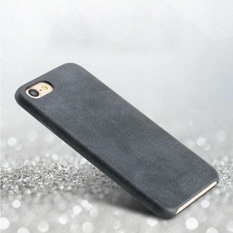 Apple iPhone8 Plus /iPhone7 plus ケース レザー ヴィンテージレザー風 かっこいい 背面カバー シンプルでスリム アイフォン8プラス/7プラス ハードケース