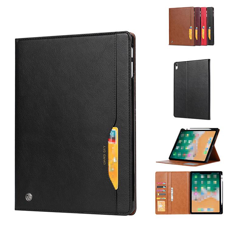 iPad Pro (11インチ) ケース/カバー 手帳型 レザー ヴィンテージ風 カード収納 タブレット ケース/カバー 手帳タイプ アイパッドプロ 手帳型カバー プロテクター ブックカバー おすすめ おしゃれ タブレットケース/カバー