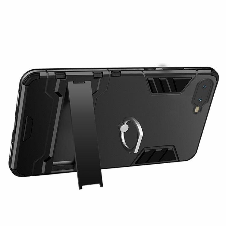 OPPO R17 Neo ケース/カバー TPU 耐衝撃 シンプル スタンド付き 片手持ち リング付き オッポ R17 Neo ソフトケース/カバー アンドロイド おすすめ おしゃれ スマフォ スマホ スマートフォンケース/カバー