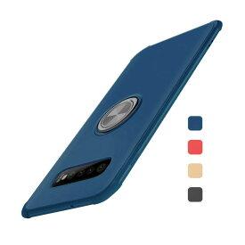 Samsung Galaxy S10/S10+/S10e ケース/カバー 背面カバー カード収納 リング付き ギャラクシー S10/S10+/S10E ソフトケース アンドロイド おすすめ おしゃれ スマフォ スマホ スマートフォンケース/カバー