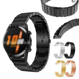 Huawei Watch GT2 Pro 交換バンド 高級ステンレス ベルト ファーウェイウォッチ GT2 プロ メタル 交換リストバンド