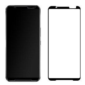 ASUS ROG Phone 3 ガラスフィルム 強化ガラス 液晶保護 9H 液晶保護シート ROG Phone 3 液晶保護ガラスシート高透明画面保護保護フィルム貼りやすい 指紋防止 傷防止