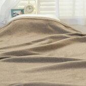 カシミヤ毛布ダブルサイズ