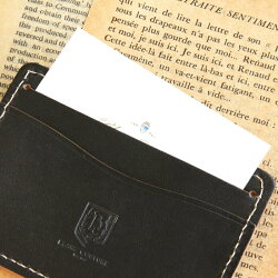 IDカードケース&ネックストラップ(お得セット)革/定期入れパスケース社員証入れ