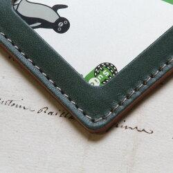 パスケースかわいい定期入れ/本革8色レディースメンズおしゃれ革カードケース財布・ケース定期入れ・パスケースシンプル名入れSuica/誕生日プレゼントおすすめ