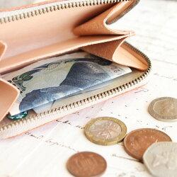 コインケースラウンドファスナーミニ財布小銭入れ/本革レディースメンズ8色財布革コンパクトヌメ革レザーブランド財布・ケースレディースコインケースおしゃれシンプル名入れ/誕生日プレゼントにも
