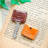 Key cover leather / 2 sets
