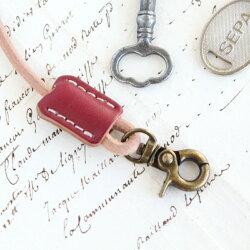 ミニウォレットロープキーホルダー革/本革8色鍵ウォレットチェーンおしゃれかわいいレディースメンズレザーマルチキーホルダー・キーケース/誕生日プレゼントおすすめ