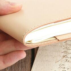 本革手帳カバー「ジブン手帳」サイズ用カバー/国産フルタンニンドレザー
