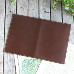 本革手帳カバー「A5サイズ」ノートカバー/国産フルタンニンドレザー/パーツを追加してセミオーダー可