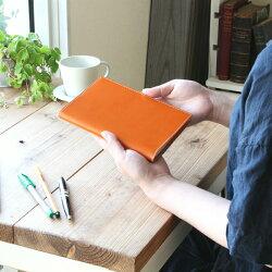 【B6サイズ本革手帳カバー】※お使いの手帳サイズ用に製作します。【メール便対応OK】