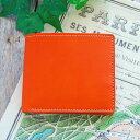 二つ折り財布 メンズ レディース 本革 / 財布 二つ折り 革 6色 送料無料 財布 ヌメ革 レザー 革 ブランド 財布・ケース メンズ財布 か…