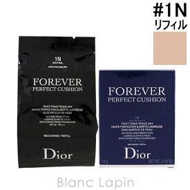 クリスチャンディオール Dior ディオールスキンフォーエヴァークッションSPF35/PA+++レフィル #1N ニュートラル 14g [461689]