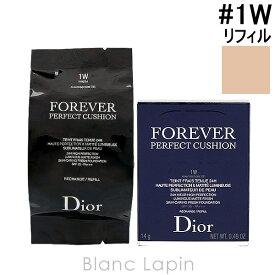 クリスチャンディオール Dior ディオールスキンフォーエヴァークッションSPF35/PA+++レフィル #1W ウォーム 14g [461696]