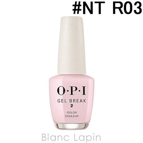 OPI ジェルブレイクネイルラッカー #NT R03 プロパリー ピンク 15ml [127327]
