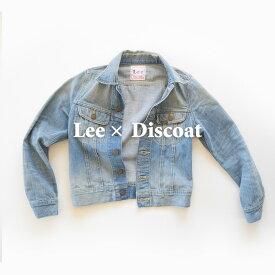 【USED】リー×ディスコート Lee×Discoat ユーズド加工デニムジャケット/Gジャン