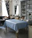 テーブルクロス ブルー ウォータープルーフ W230cm x D155cm