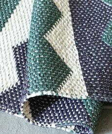 【40%OFF】Brita Sweden アウトドアラグ・ルッピオ・モス70x150/ ラグ カーペット 絨毯 OUTDOOR 屋外 マット 洗える