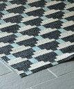 【40%OFF】Brita Sweden アウトドアラグ・コンフェクト・ナイト70x150/ ラグ カーペット 絨毯 OUTDOOR 屋外 マット 洗える
