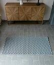 【50%OFF】アウトドアラグ・ヴァンガード・ブルー・80x150/ ラグ カーペット 絨毯 OUTDOOR 屋外 マット