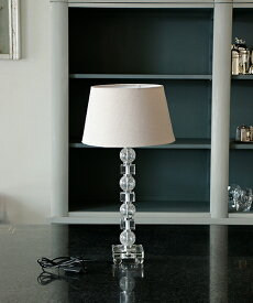 Blanc de Juillet テーブルスタンド・メールドグラス/照明 電気スタンド 間接照明 アンティーク フレンチ テーブルランプ 北欧 モダン ガラス