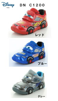 Shoes (magic tape child shoes) DN C1200 of Disney Cars