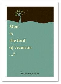 ポスター 【Lord ブルー】 A2サイズ インテリア 北欧テイスト 風景,景色ポスター Interior Art Poster