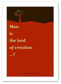 ポスター 【Lord レッド】 A3サイズ インテリア 北欧テイスト 風景,景色ポスター Interior Art Poster