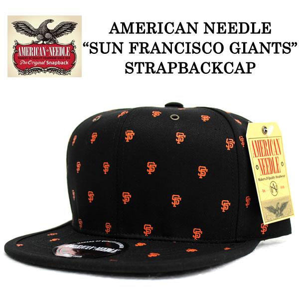 AMERICAN NEEDLE/アメリカンニードル LIMITED EDITION MAESTRO SF GIANTSアメリカンニードル キャップ ANMERICAN NEEDLE キャップ MLB SNAPBACK CAP スナップバック キャップ NEW ERA ニューエラ 帽子 帽子 きゃっぷ あす楽対応 サイズ調整 メンズ レディース