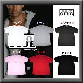 プロクラブ 【PROCLUB】 半袖Tシャツ メンズ 大きいサイズ BIG SIZE 各12色 無地 USサイズ インナー 丈夫 ビッグサイズ ストリート ヒップホップ ギャングスタ ファッション 2xl 3xl あす楽 即納