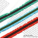 ゴム テープ リバーシブル フリル 幅約15mm BLAZE