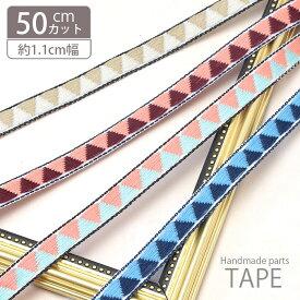 ネイティブ 柄 チロル テープ ダブル フラッグ チロリアンテープ BLAZE