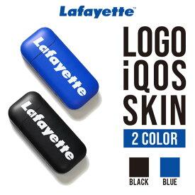 Lafayette ラファイエット アイコス用ステッカー メンズ レディース 男性 女性 ウィメンズ ユニセックス 男女兼用 デコ シール ステッカー カスタム LOGO iQOS SKIN LFTBL006 BLACK ROYAL ブラック ロイヤル 黒 青