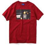 Lafayette×JOHNNYNUNEZラファイエット×ジョニーヌネズBIGPUNTEE半袖TシャツLS200127REDレッド