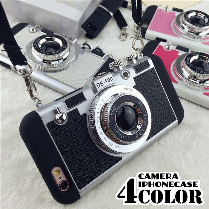 【着後レビューで10%OFFクーポン配布中】カメラ型 iphone8 iphone7 iphone6s/6 iphone6splus iphone6plus アイフォンケース スマートフォンケース スマホケース 携帯 モバイルケース カメラ iphoneケース