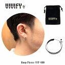 【VIVIFY 正規店】VIVIFY ビビファイ ピアス フープピアス シルバーHoop Pierce 受注生産