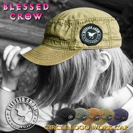 BlessedCrow CircleLogo ワークキャップ 帽子 ブランド 男性 女性 メンズ レディース