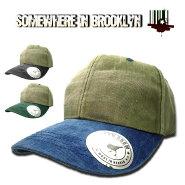 BlessedCrowアースカラーキャップ帽子メンズレディースアメリカ直輸入シンプル