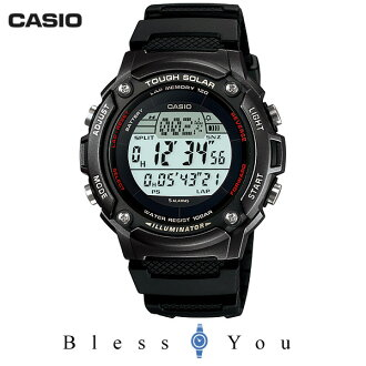 Casio sports gear SPORTS GEAR W-S200H-1BJF tough solar runner new order 5, 5
