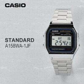 カシオ 腕時計 CASIO A158WA-1JF 3,9 メンズサイズ デジタル ウォッチ ネコポス [チープカシオ プチプライス チプカシ プチプラ]