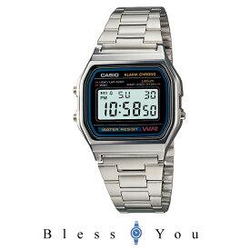 カシオ 腕時計 CASIO A158WA-1JF 3,9-04 メンズデジタルウォッチ 新品お取寄せ品 [チープカシオ プチプライス チプカシ プチプラ]