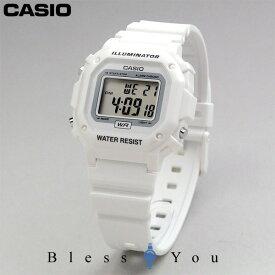 カシオ デジタル ウォッチ ホワイト 腕時計 CASIO F-108WHC-7BJF 3,0 [チープカシオ プチプライス チプカシ プチプラ] 限定入荷 ネコポス