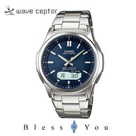 電波ソーラー腕時計 メンズ カシオ CASIO ウェーブセプター WVA-M630D-2AJF メンズウォッチ ネイビー [ 父の日 プレゼントに]