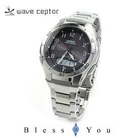 電波ソーラー腕時計 メンズ カシオ 腕時計 CASIO ウェーブセプター 電波ソーラー WVA-M640D-1A2JF ブラック メンズウォッチ 【国内正規品】 ギフト プレゼント