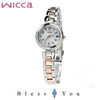 CITIZENwiccaシチズンソーラー電波腕時計レディースウィッカKS1-538-1137,0