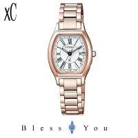 クロスシーxCサクラピンクシチズンソーラー電波腕時計レディースウォッチEC1144-51Wエコドライブ電波時計78,0