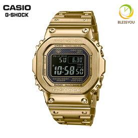 [サイズ調整無料]CASIO G-SHOCK カシオ 電波ソーラー 腕時計 メンズ Gショック 2018年9月 GMW-B5000GD-9JF 68,0 日本製