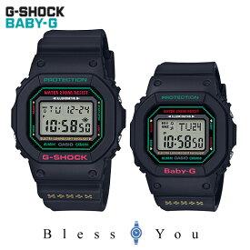 ペアウォッチ Gショック ラバーズコレクション2019 ブラック LOV-19B-1JR 23,5 CASIO G-SHOCK カシオ ソーラー電波 腕時計 2019年11月新作[あす楽]