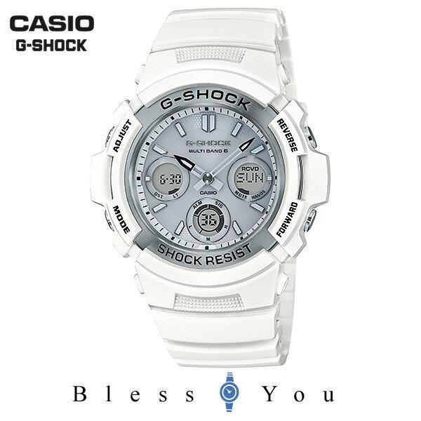 CASIO G-SHOCK カシオ 電波ソーラー 腕時計 メンズ Gショック 2018年5月新作 AWG-M100SMW-7AJF 24,0