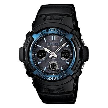 gショックg-shockg-ショックソーラー電波時計カシオ腕時計AWG-M100A-1AJFメンズウォッチ新品お取寄せ品